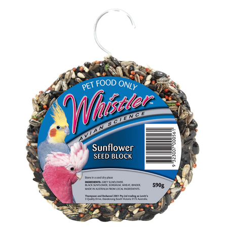 Whistler Sunflower Seed Block - 590gm