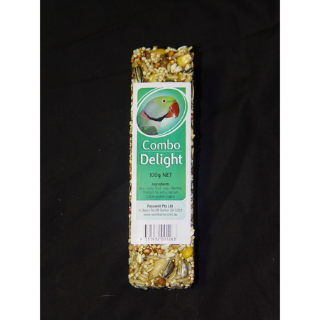 Wombaroo Avian Delight Bar - Combo 100gm
