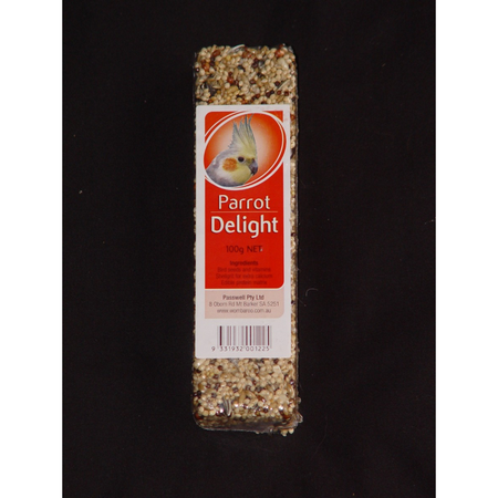 Wombaroo Avian Delight Bar - Parrot 100gm