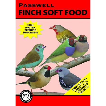Wombaroo Finch Soft Food Formula Wet Bird Food   500gm