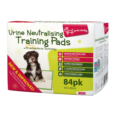 Yours Droolly Anti Bacterial and No Smell Toilet Training Pads  84pk
