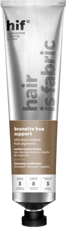 HIF Brunette Hue Support Cleansing Conditioner with Black Walnut Husk Pigments