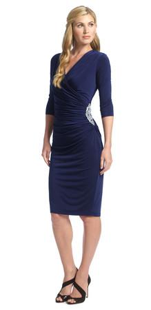 Rhoda Short Wrap Dress