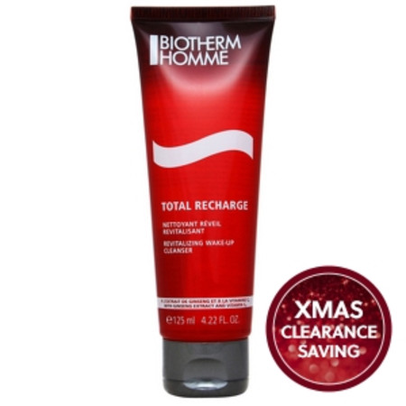 Biotherm Homme Total Recharge Wake Up Cleanser 125ml