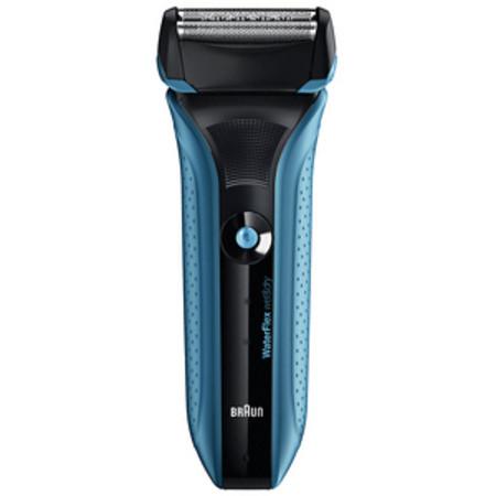 Braun WaterFlex Wet and Dry Shavers WaterFlex WF2s Blue