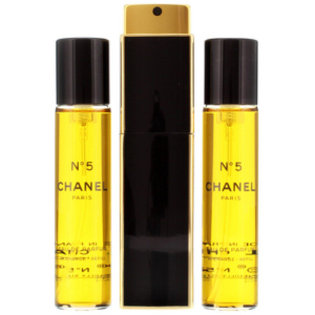 Chanel No. 5 Eau de Parfum Purse Spray 20ml and Refills 2 x 20ml