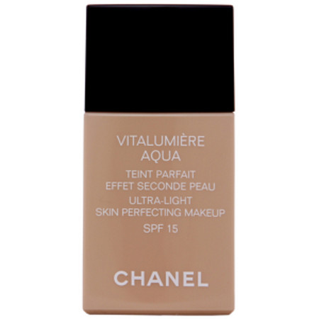 Chanel Vitalumiere Aqua Ultra-Light Skin Perfecting Makeup 42 Beige Rose SPF15 30ml