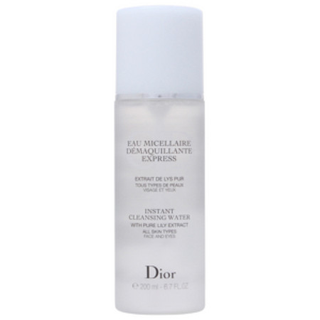 Dior Cleansers Instant Cleansing Water for All Skin Types 200ml