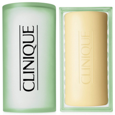 Clinique Cleansers and Makeup Removers Step 1 (Cleanse) Facial Soap Mild with Dish 150g