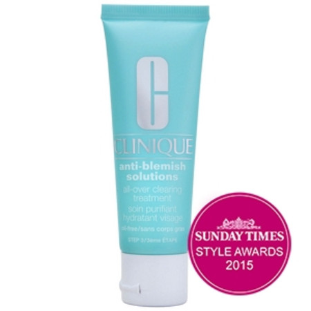 Clinique Serums and Treatments Anti-Blemish Solutions All Over Clearing Treatment All Skin Types 50ml