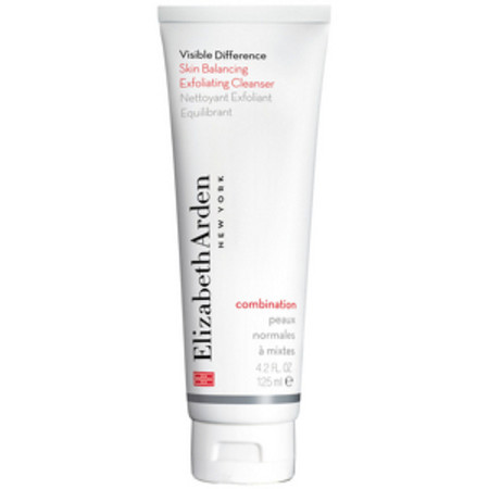 Elizabeth Arden Cleansers and Toners Visible Difference Skin Balancing Exfoliating Cleanser 125ml