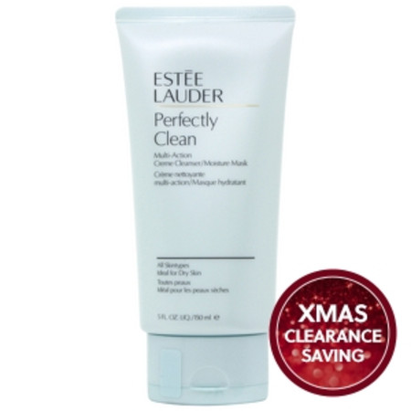 Estee Lauder Masks and Exfoliators Perfectly Clean Multi-Action Creme Cleanser and Moisture Mask All Skin Types 150ml