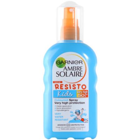 Garnier Ambre Solaire - Kids Resisto Coloured Spray SPF50+ 200ml