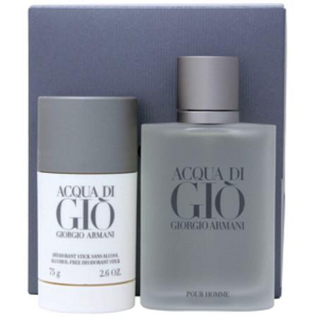 Giorgio Armani Acqua Di Gio Men Eau de Toilette Spray 100ml and Deodorant Stick 75ml