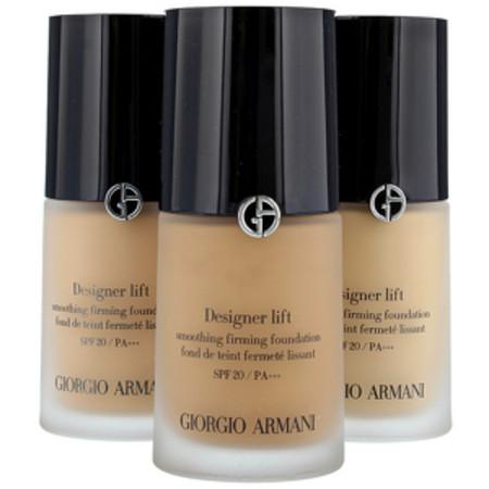 Giorgio Armani Designer Lift Smoothing Firming Foundation 04 Light Sand SPF20 30ml