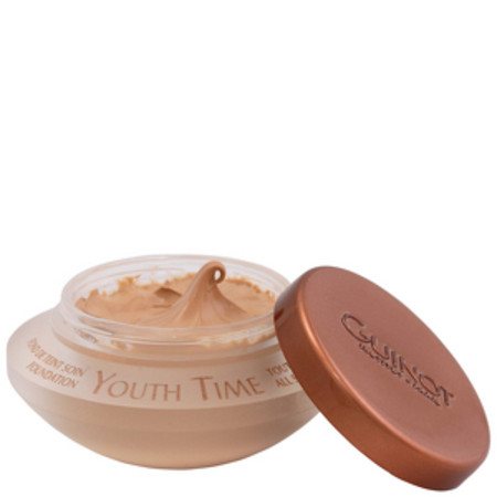 Guinot Facial Rejuvenating Fond De Teint Soin Youth Time Foundation No.3 Dark Skin with Golden Undertones. 30ml