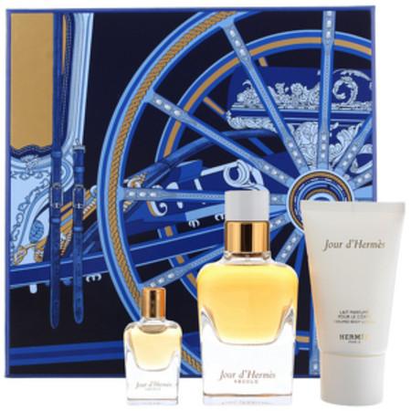 Hermes Jour D'Hermes Absolu Eau de Parfum 50ml, Body Lotion 30ml and Eau de Parfum 7.5ml
