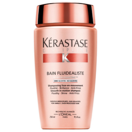 Kerastase Discipline Bain Fluidealiste Shampoo 'No Sulfates' For Unruly Over Processed Hair 250ml