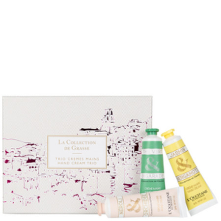 L'Occitane Gifts La Collection De Grasse Hand Cream Trio 2016