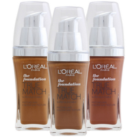L'Oreal Paris True Match Liquid Foundation W3 Golden Beige SPF17 30ml