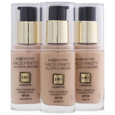 Max Factor Facefinity 3 in 1 Foundation Sand 60 SPF 20 30ml