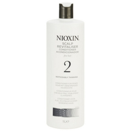 Nioxin System 2 Scalp Revitaliser Conditioner for Noticeably Thinning Fine Hair 1000ml