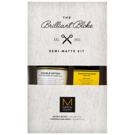 Paul Mitchell Mitch The Brilliant Bloke - Double Hitter 250ml and Construction Paste 75ml