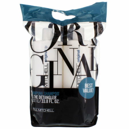 Paul Mitchell Original Awapuhi Shampoo 1000ml and Detangler 1000ml