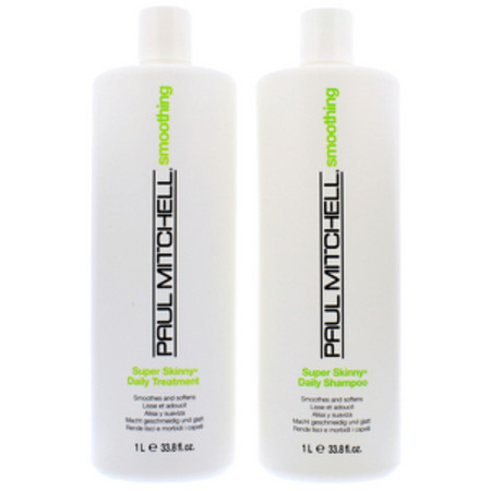 Paul Mitchell Smoothing Super Skinny Shampoo 1000ml and Treatment 1000ml