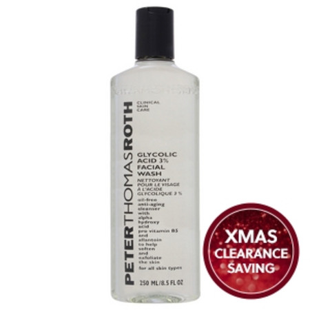 Peter Thomas Roth Face Care Glycolic Acid 3% Facial Wash 250ml