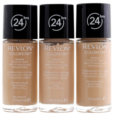 Revlon ColorStay Foundation Oily/Combination Skin 180 Sand Beige SPF15 30ml