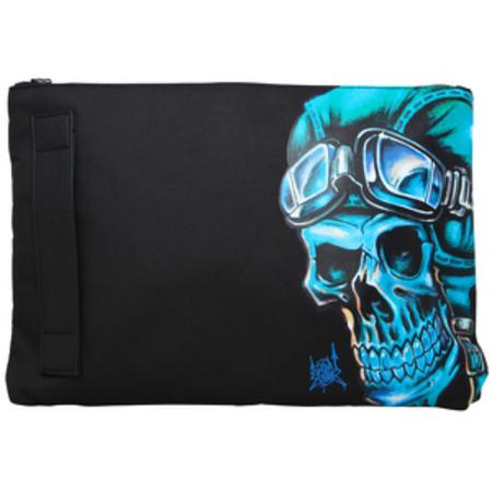 Sanctum Accessories Biker Skull Essential Travel Bag
