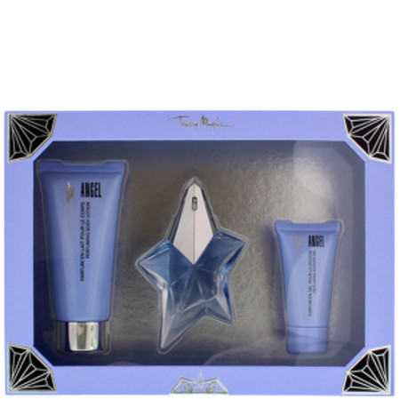 Thierry Mugler Angel Eau de Parfum Spray 25ml, Body Lotion 100ml and Perfumed Shower Gel 30ml