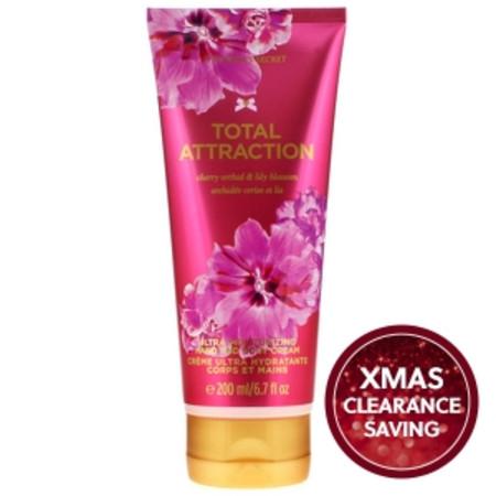 Victoria's Secret Total Attraction Ultra Moisturising Hand and Body Cream 200ml