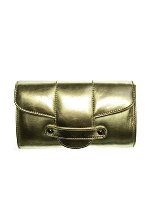 Bond Street Leather Clutch