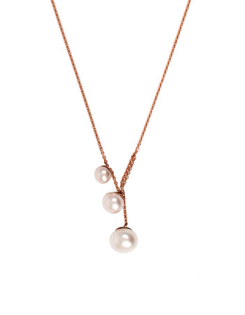 Bouton necklace - pure gold