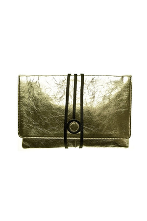 Hyde Park Leather Clutch