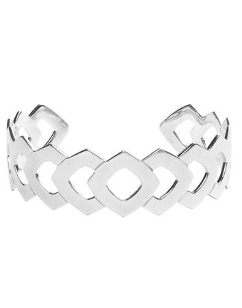 Laurus Aztec Open Openwork Silver Bracelet