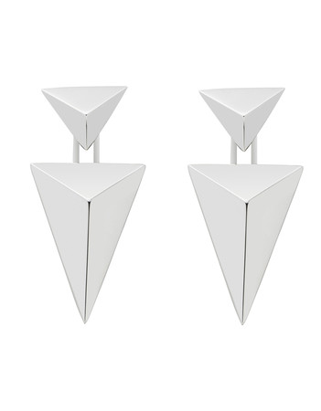 Lepidus Silver Earrings