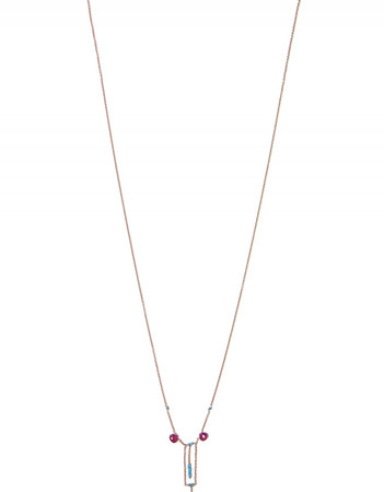 Necklace - Babiole 3 - Red Gold