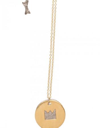 Necklace - Talisman Damoiselle - golden