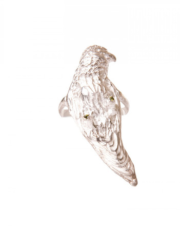 Ring - Parrot - Silver