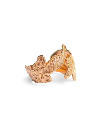 Vieille fille ring - pure gold