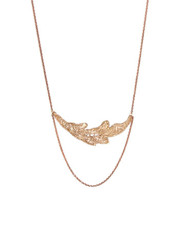 Vielle fille necklace - pure gold