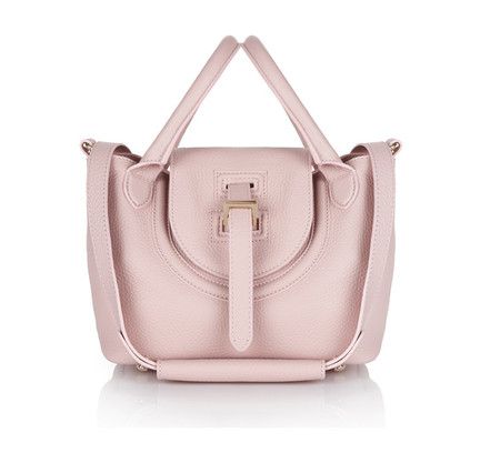 Halo Mini Bag Dusty Pink Reverse Handles