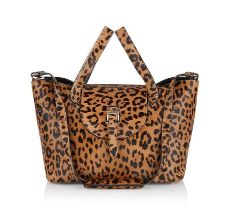 Thela Medium Handbag in Cheetah
