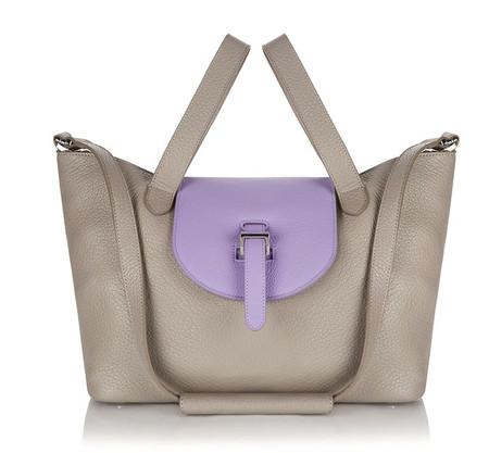 Thela Medium Tote Bag Detach Taupe