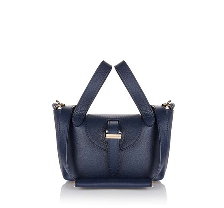 Thela Micro Mini Bag Dark Blue
