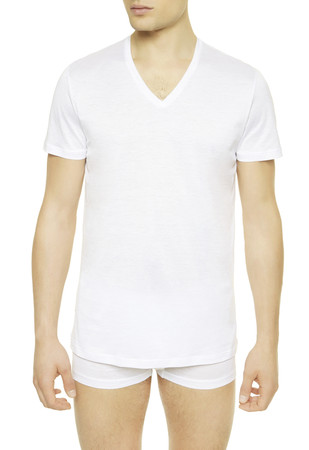 CLUB V-neck t-shirt