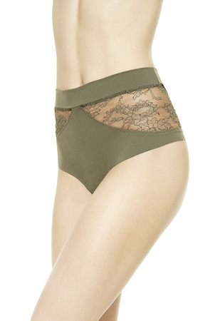SHAPE-ALLURE HIGH-WAISTED G-STRING